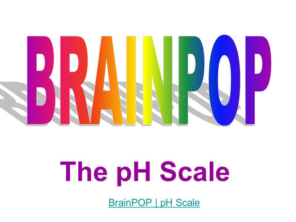 The pH Scale BrainPOP | pH Scale