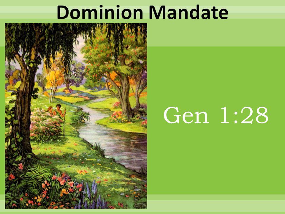 Gen 1:28