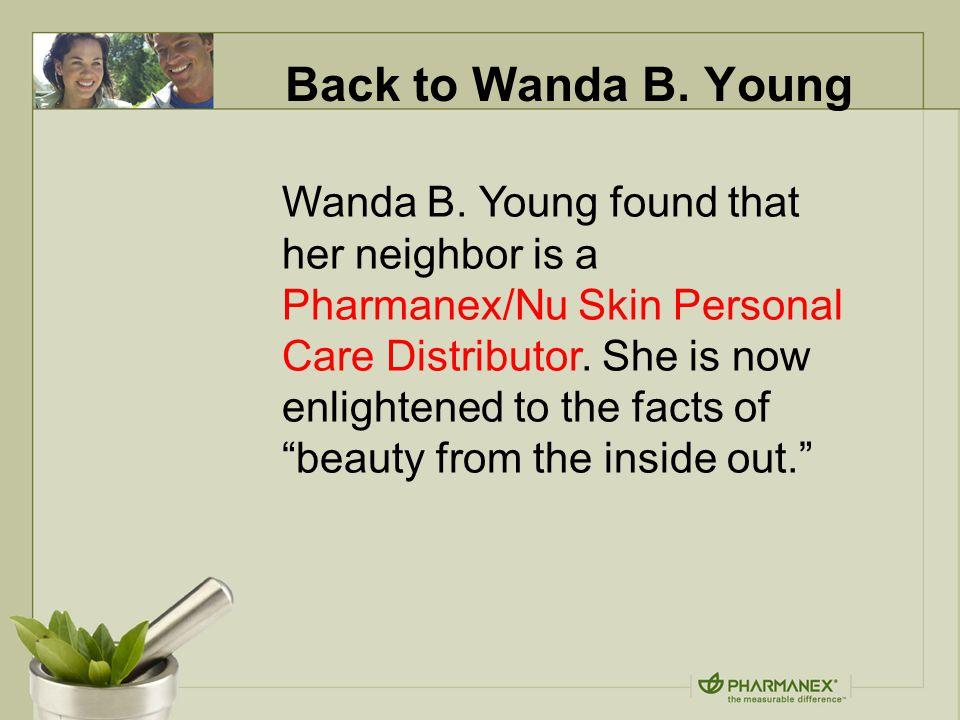 Back to Wanda B. Young Wanda B.