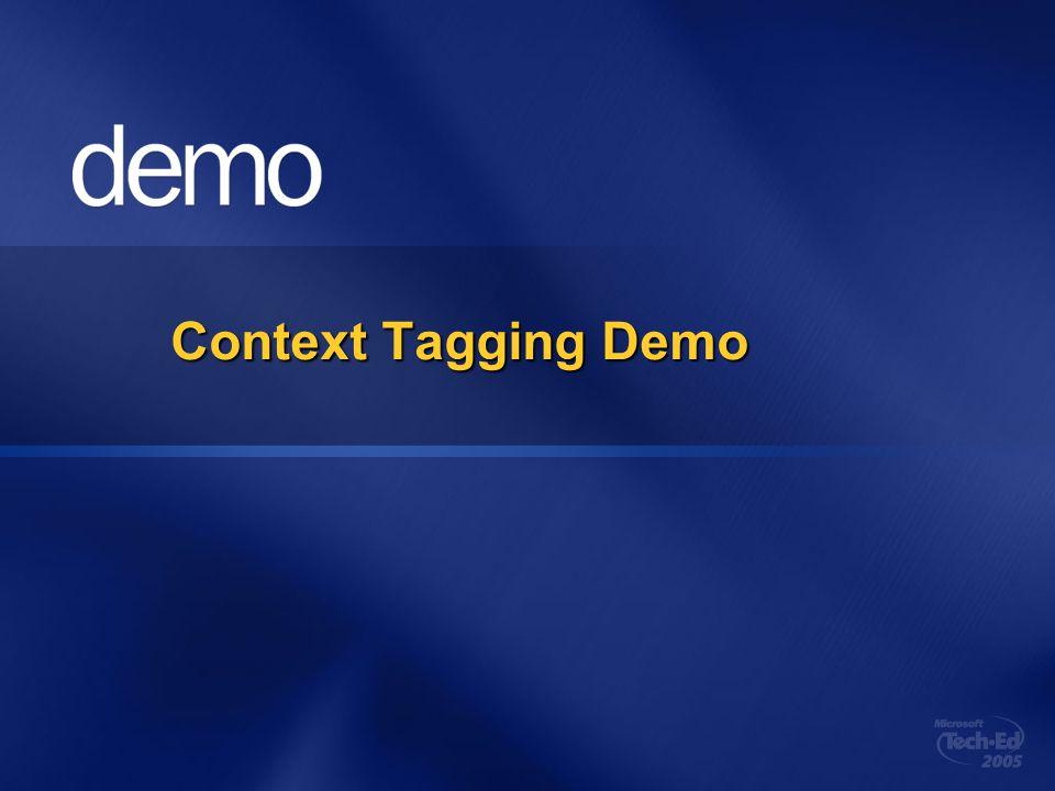 Context Tagging Demo