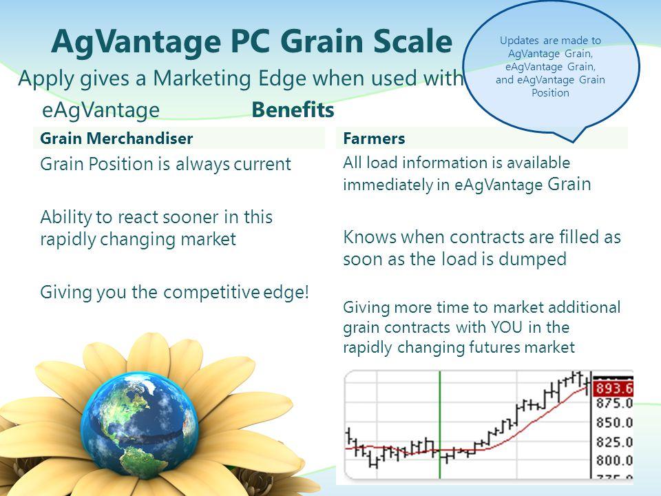 AgVantage PC Grain Scale Printers Different print formats for multiple printers