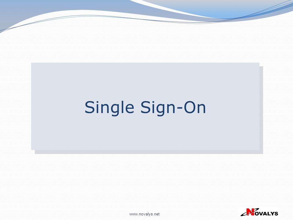 www.novalys.net Single Sign-On