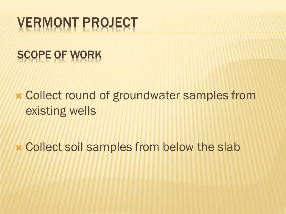  Same scientific understanding of the site.