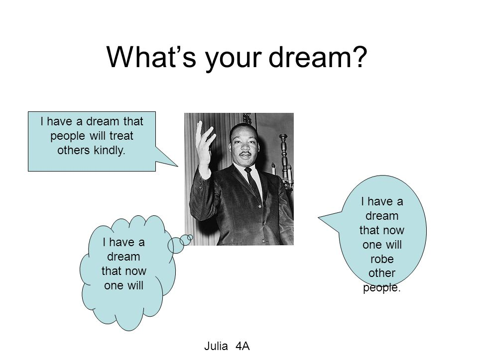What's Your Dream.
