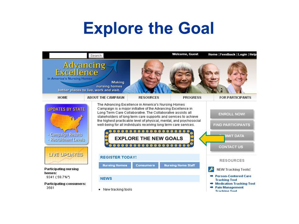 Explore the Goal