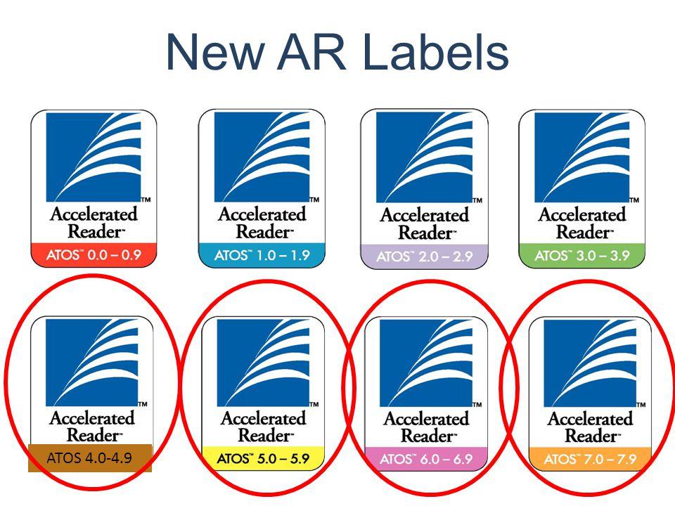 New AR Labels ATOS 4.0-4.9