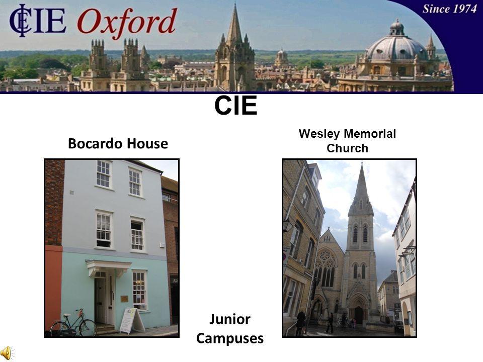 Bocardo House Junior Campuses CIE Wesley Memorial Church