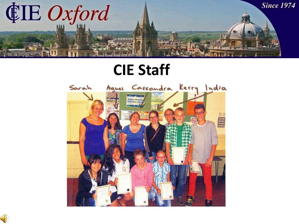 CIE Staff