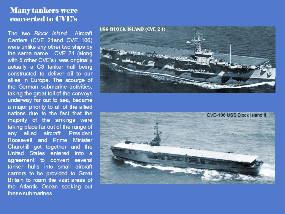 WORLD WAR II ERA TANKER HISTORY Some of these may only have worked as Oil Transports – Not performing UNREP. Cimarron Class – June 1938 Kennebec Class