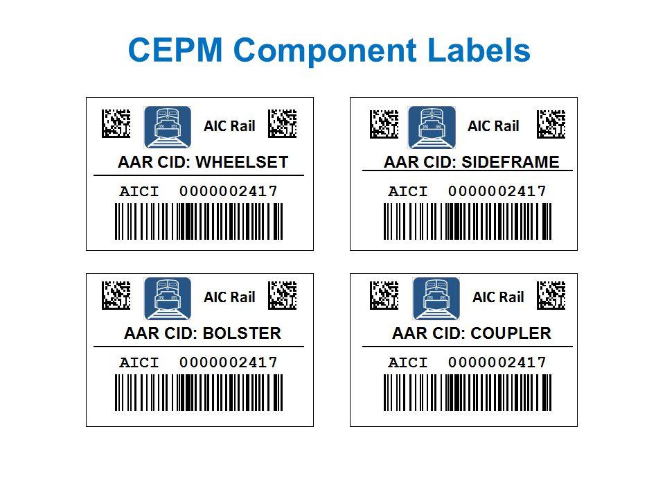 CEPM Component Labels