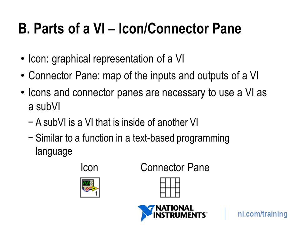 ni.com/training Summary—Quiz 2.Which function executes first: Sine or Divide.