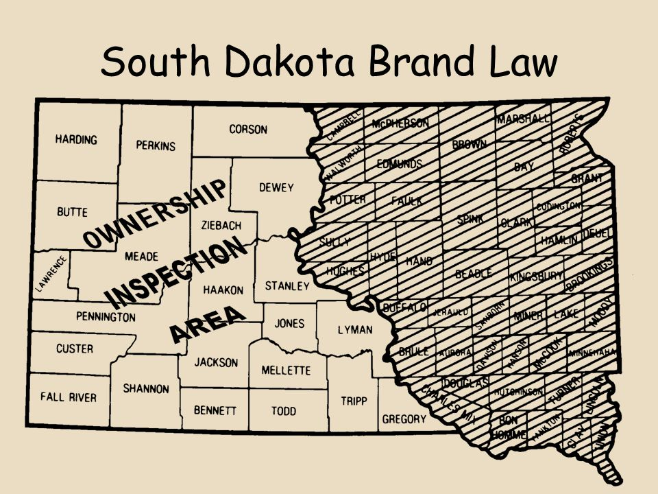 South Dakota Brand Law