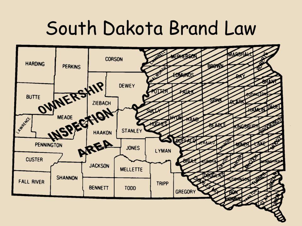 South Dakota Brand Law