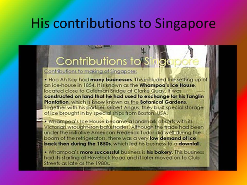Introduction of Hoo Ah Kay My contributions everybody study leh! I'm Hoo Ah Kay!