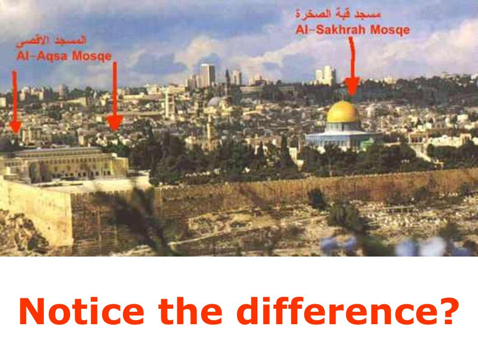 All Muslims should be aware of this conspiracy and make it clear to our children and the public about Masjid al-Aqsa.