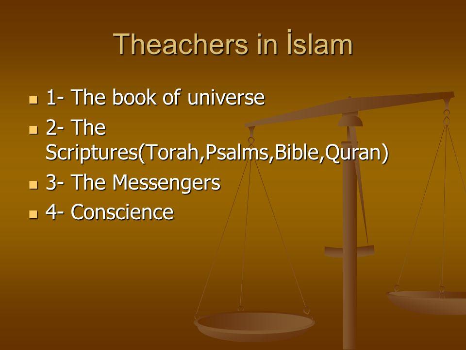 The Aim in İslam 1- Believe in God 1- Believe in God 2- Knowledge about God 2- Knowledge about God 3- Worship 3- Worship 4- Love 4- Love