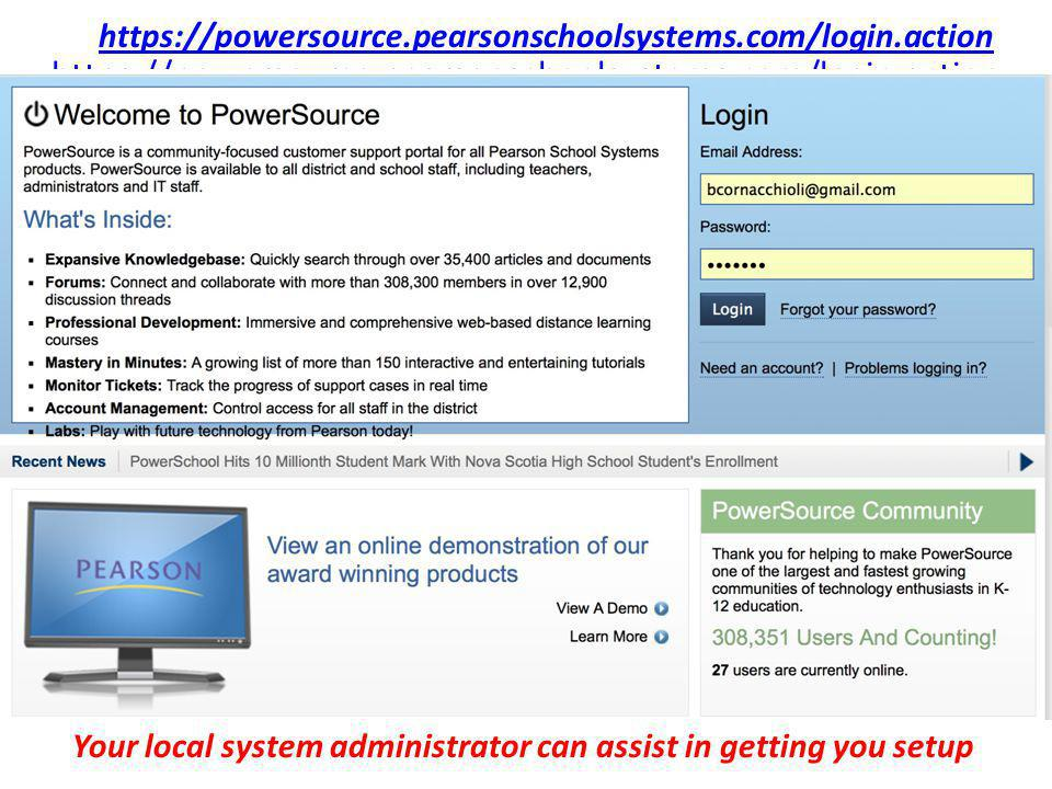 Your local system administrator can assist in getting you setup