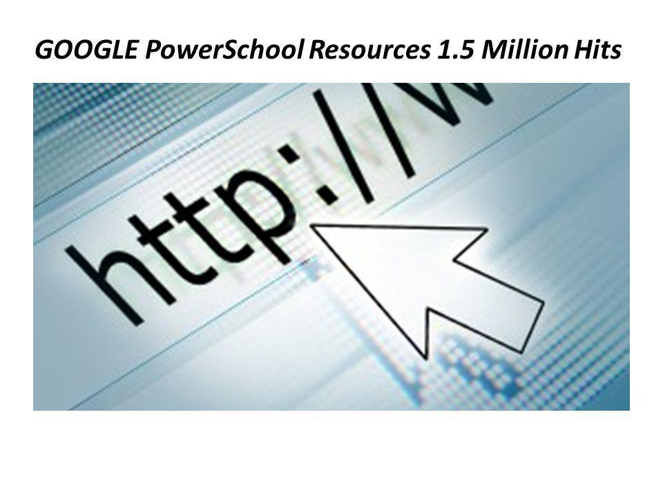 GOOGLE PowerSchool Resources 1.5 Million Hits