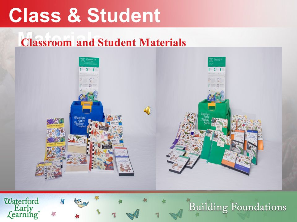 Class & Student Materials Classroom and Student Materials