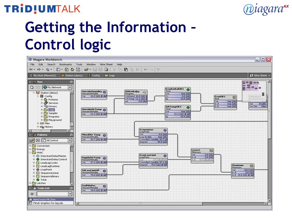 12 Getting the Information – Control logic