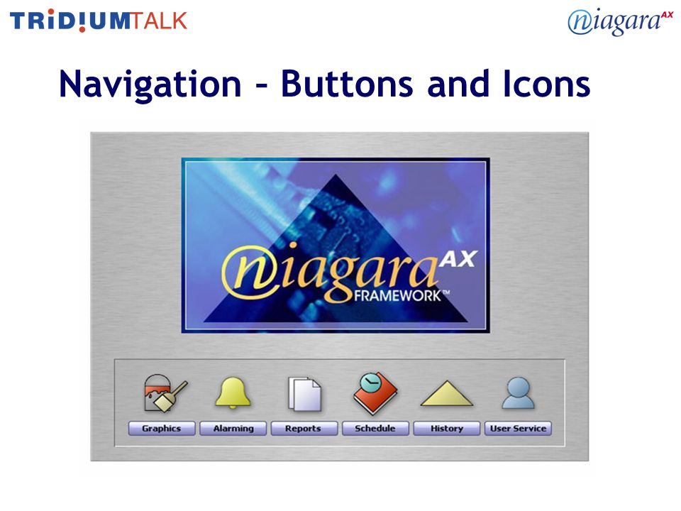 9 Navigation – Buttons and Icons