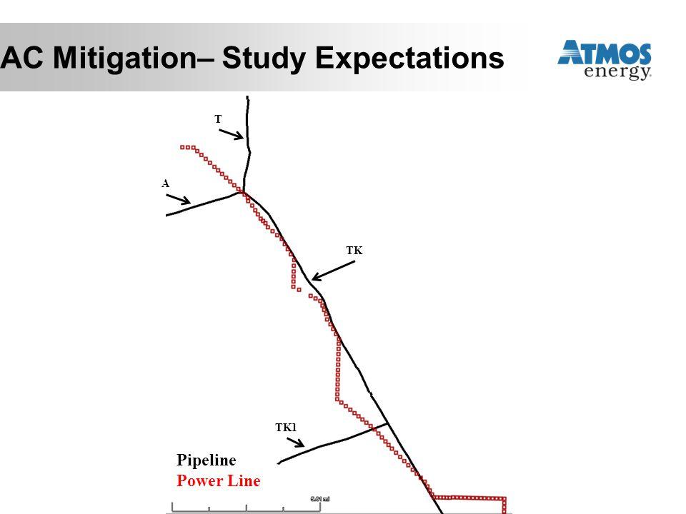 Pipeline Power Line A T TK TK1