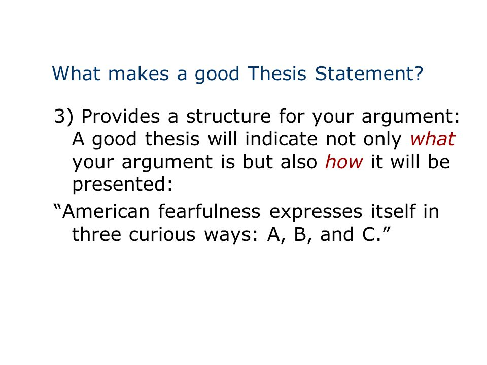 making a thesis Making your thesis involves lots of things the act of making a thesis is regarded as a very difficult one because many things are judged and graded if you are writing a.
