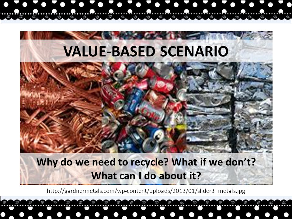 Why do we need to recycle. What if we don't. What can I do about it.