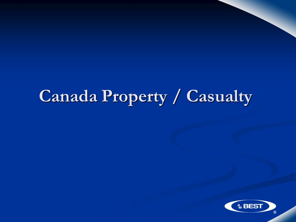 Canada Property / Casualty