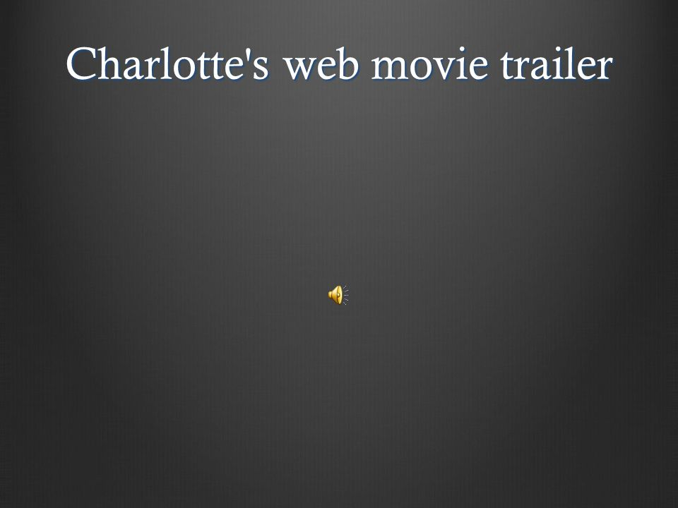 Charlotte s web movie trailer