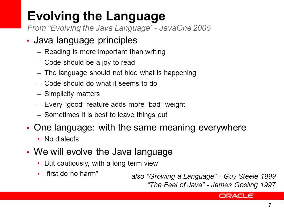 48 The DaVinci Machine Project (JSR-292) (A multi-language renaissance for the JVM) Better