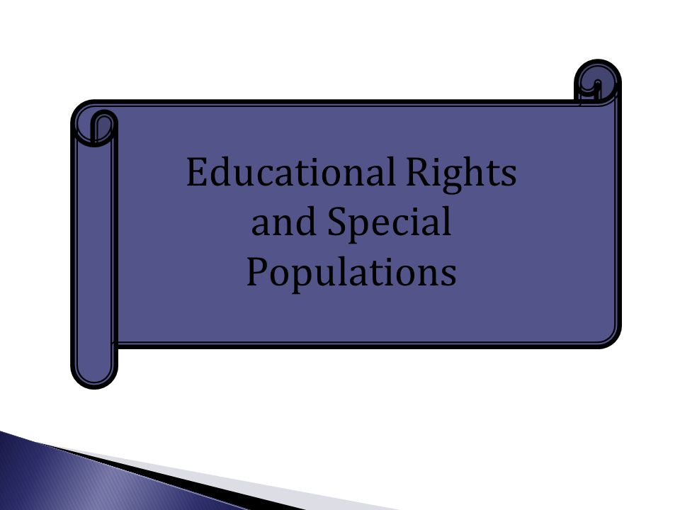  All students have the right to access the general curriculum regardless of their gender, race, color, national origin, sexual orientation, religion or disability.