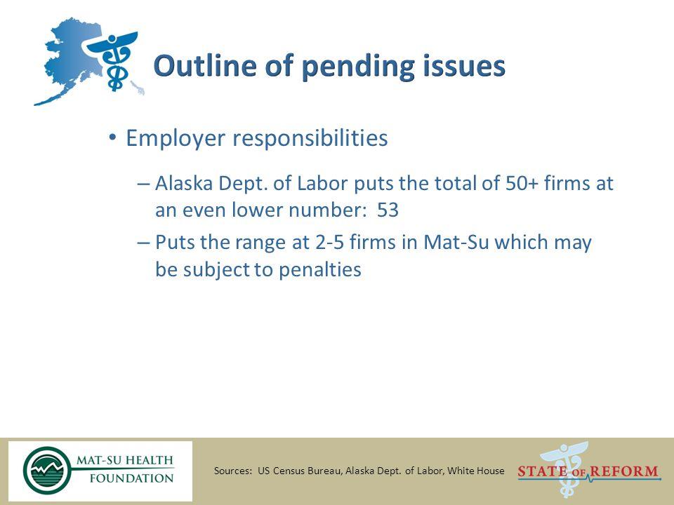 Employer responsibilities – Alaska Dept.