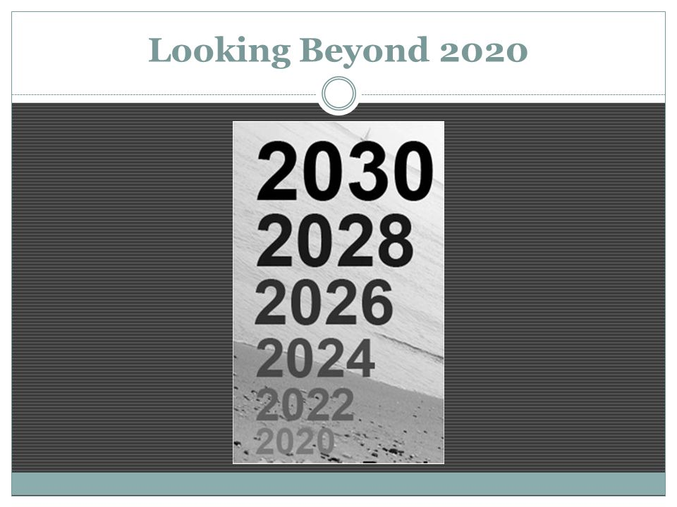Looking Beyond 2020