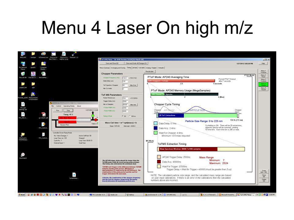 Laser on - V