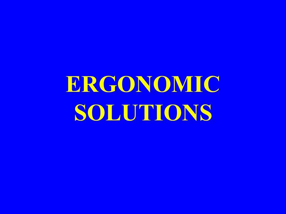 ERGONOMIC SOLUTIONS General