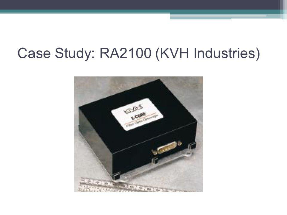 Case Study: RA2100 (KVH Industries)