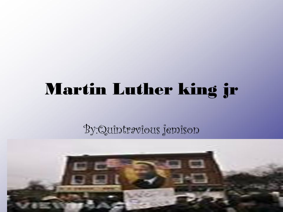 Martin luther king jr Martin Luther King, Jr., (January 15, 1929-April 4, 1968) was born Michael Luther King, Jr., but later had his name changed to Martin.