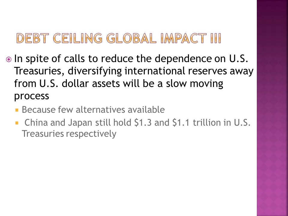  In spite of calls to reduce the dependence on U.S.