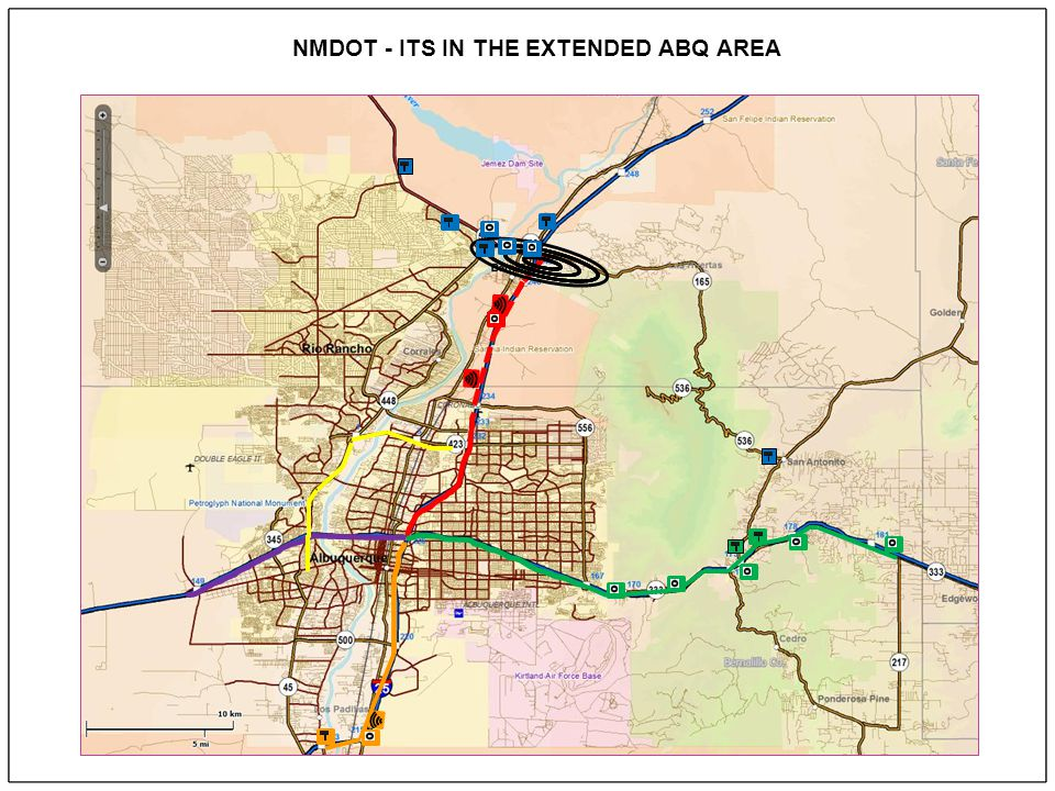 NMDOT - ITS DEPLOYMENTS THROUGHOUT THE STATE