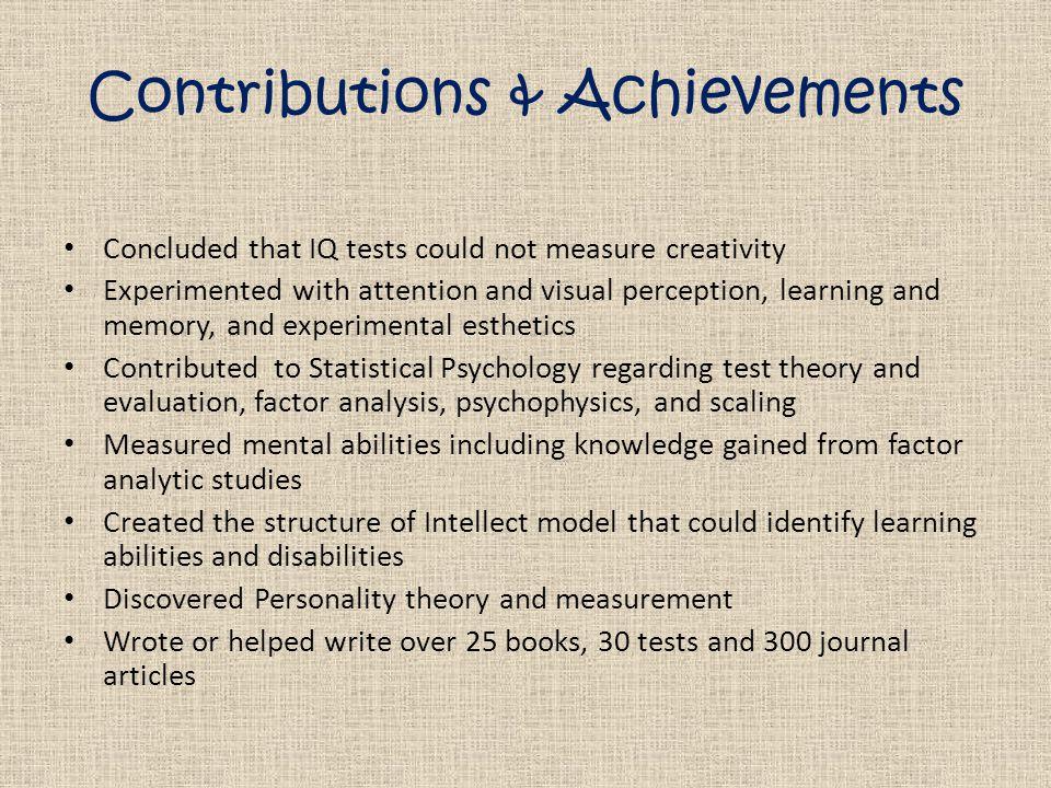 IQ Tests = BAD