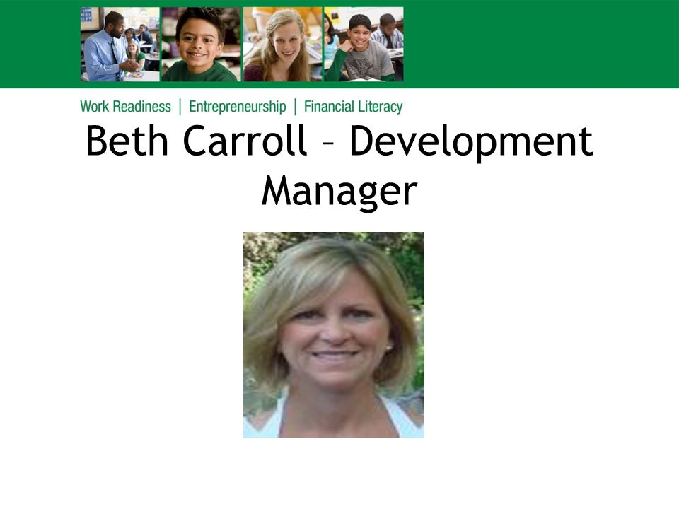 Beth Carroll – Development Manager