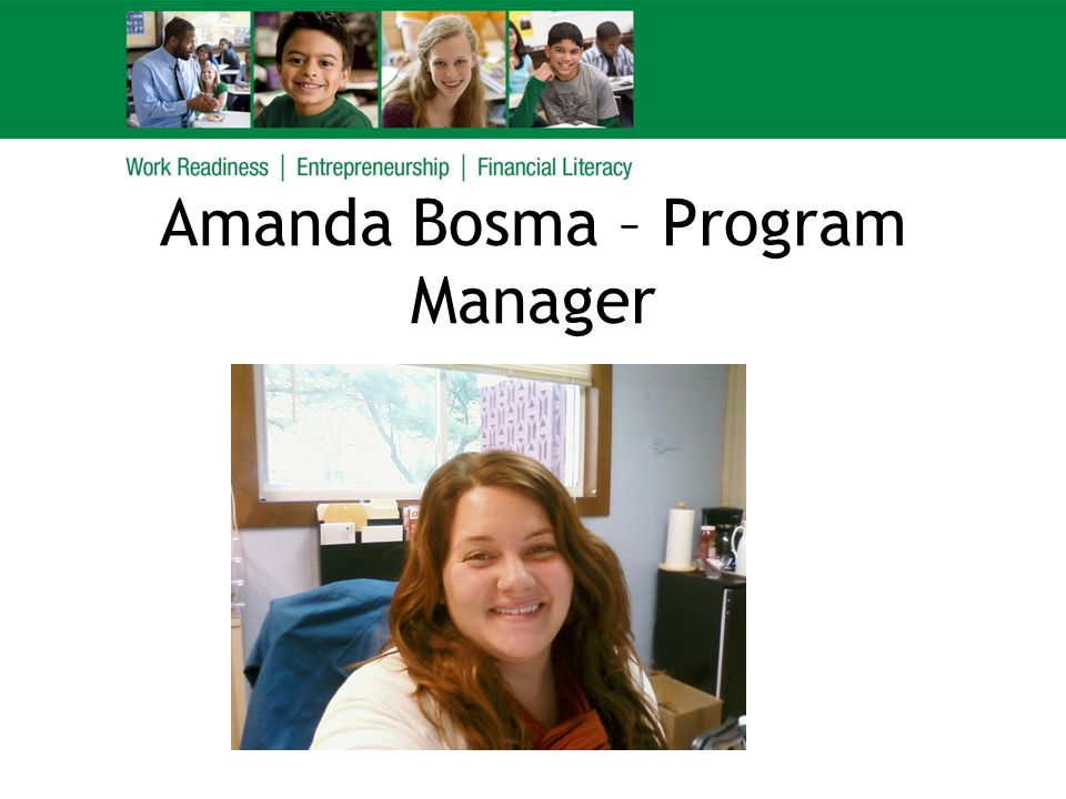 Amanda Bosma – Program Manager