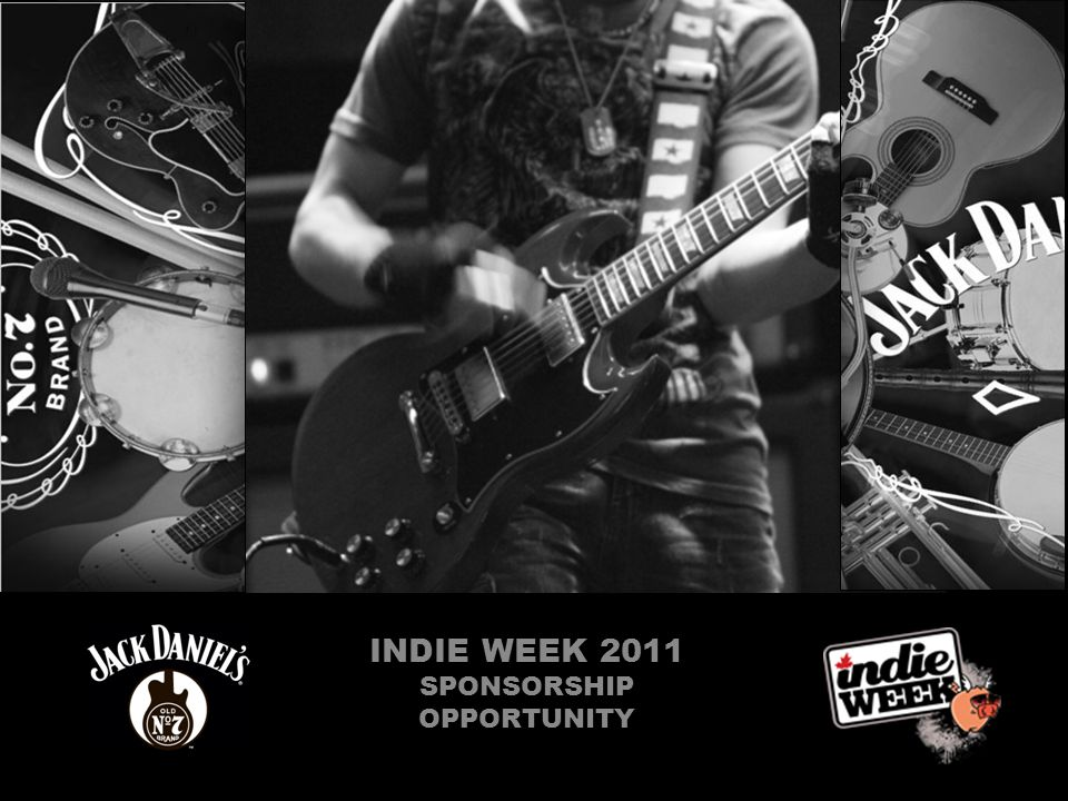 INDIE WEEK 2011 SPONSORSHIP OPPORTUNITY
