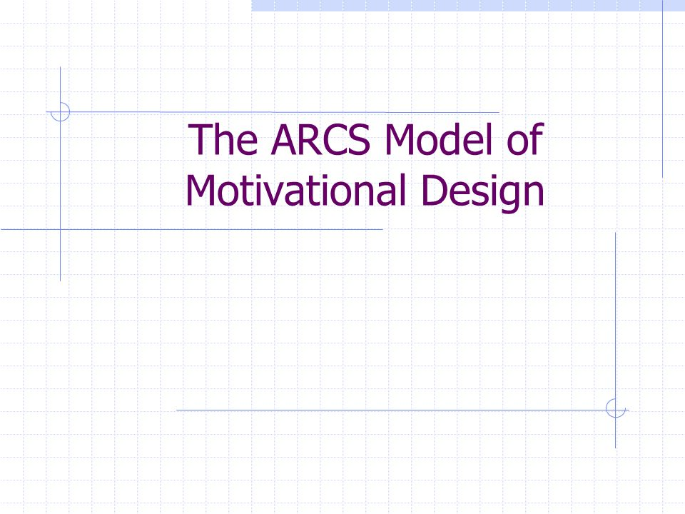 The ARCS Model of Motivational Design