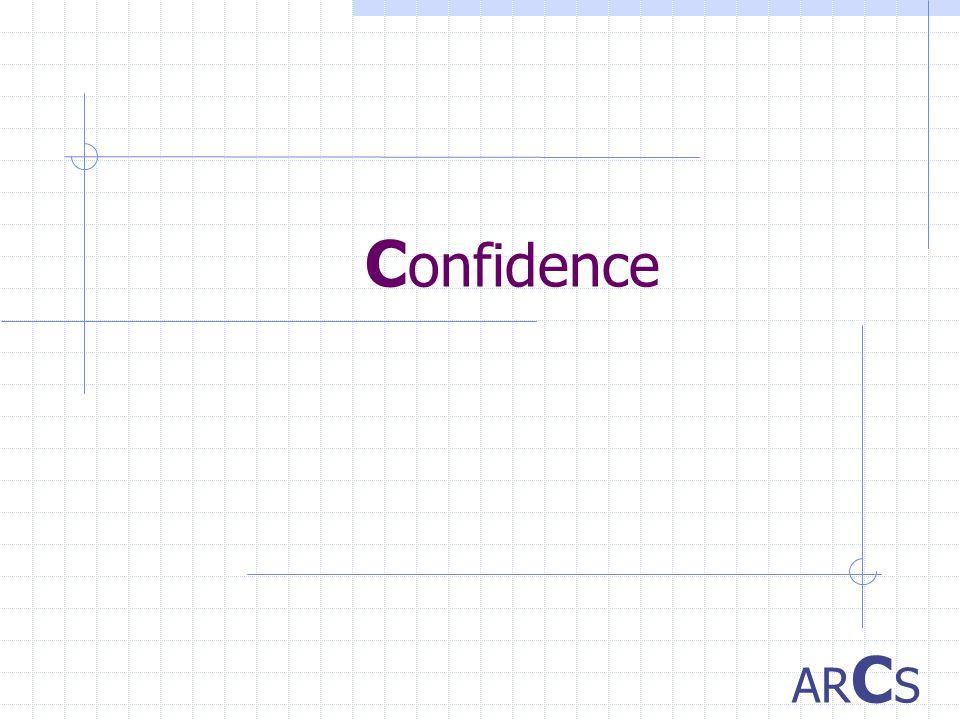 C onfidence AR C S