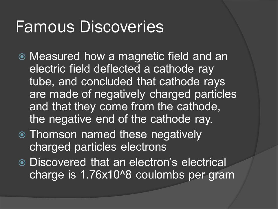 Sources  http://www.nobelprize.org/nobel_prizes/p hysics/laureates/1906/thomson-bio.html http://www.nobelprize.org/nobel_prizes/p hysics/laureates/1906/thomson-bio.html  Chemistry text book