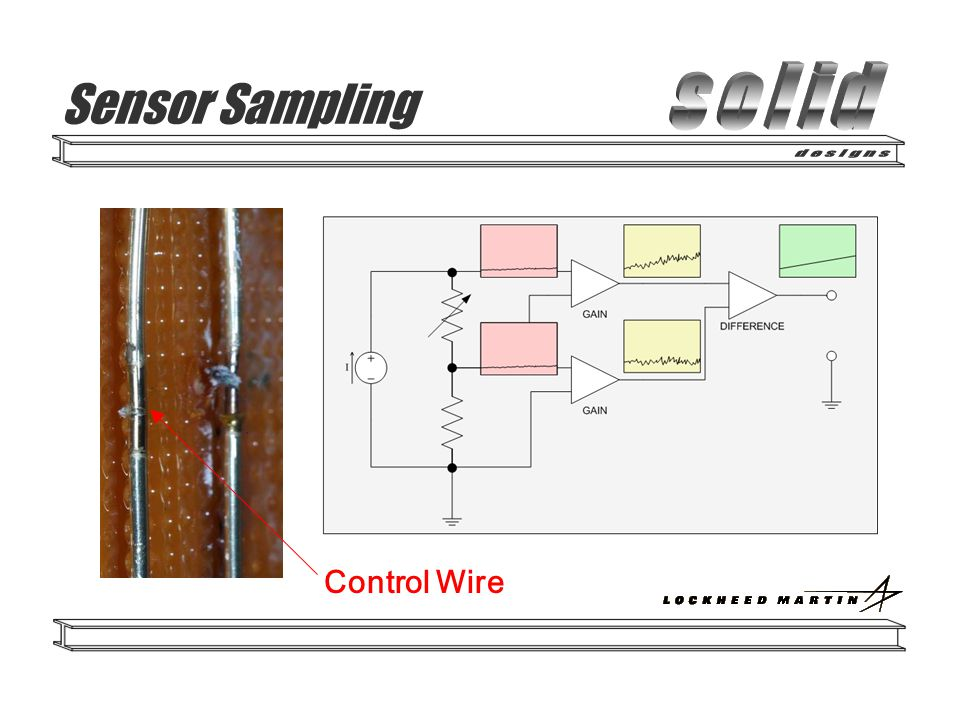 Sensor Sampling Control Wire