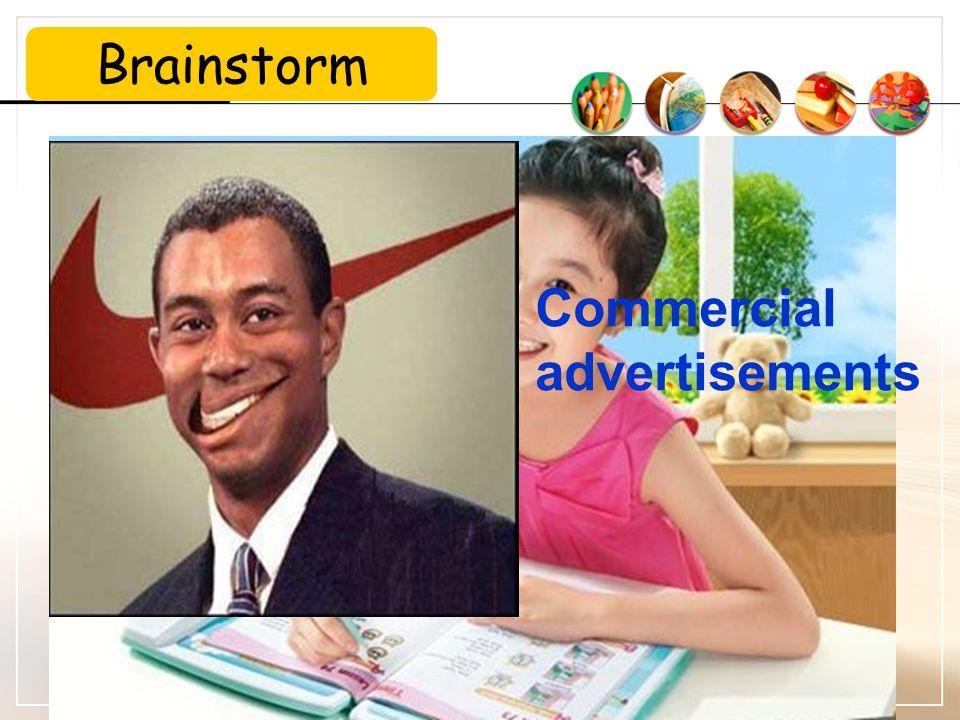 Brainstorm Commercial advertisements
