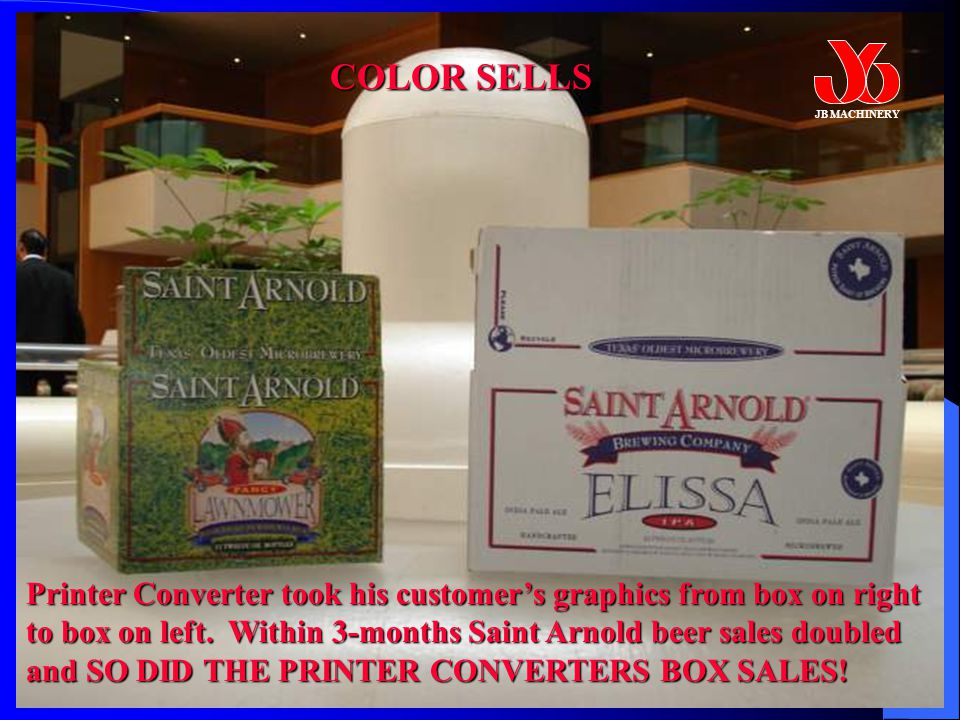 Printer Converter took his customer's graphics from box on right to box on left.